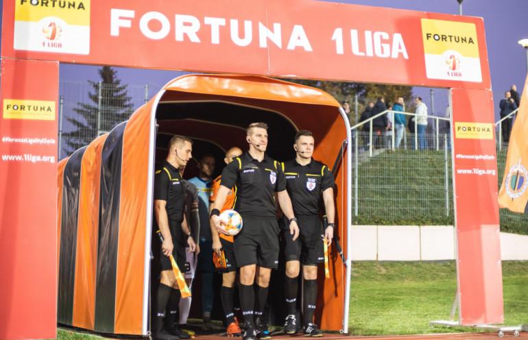 23.10.2019 Glogow , Pilka nozna Fortuna 1. liga mecz Chrobry Glogow - Zaglebie Sosnowiec