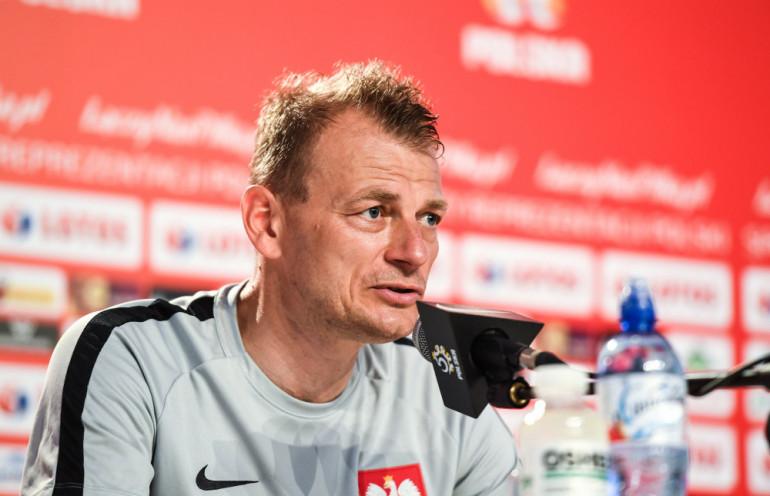 Bogdan Zając jako członek sztabu reprezentacji Polski