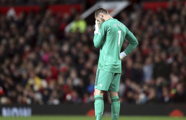 David De Gea Manchester City