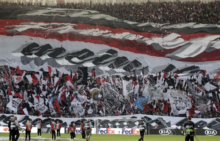 Eintracht Frankfurt kibice