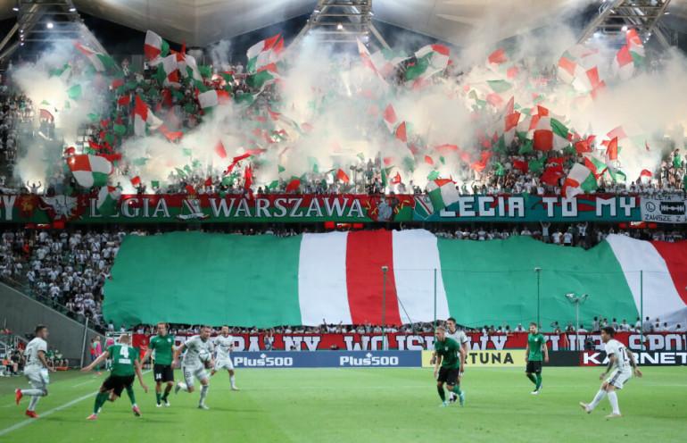 Eliminacje do Ligi Mistrzów: Legia Warszawa - FC Flora Tallin