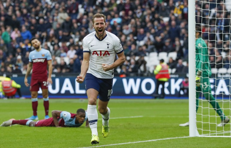 Harry Kane vs West Ham