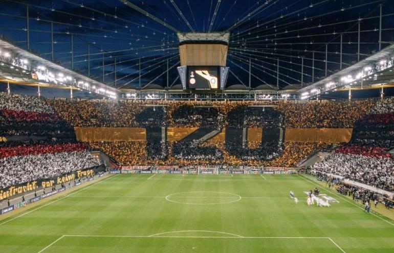 Kibice Eintrachtu Frankfurt