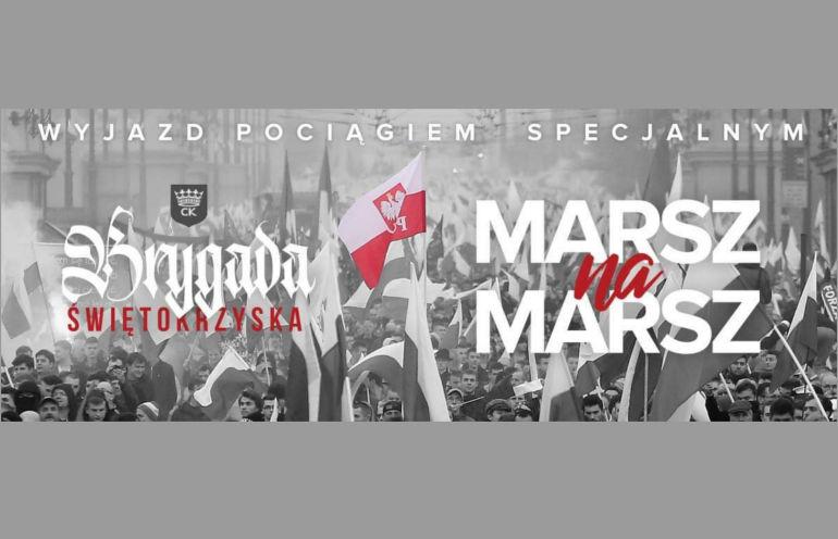 Kibice Korony Marsz Niepodległości