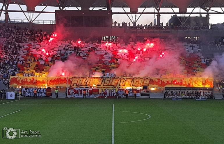 Kibice ŁKS-u Łódź