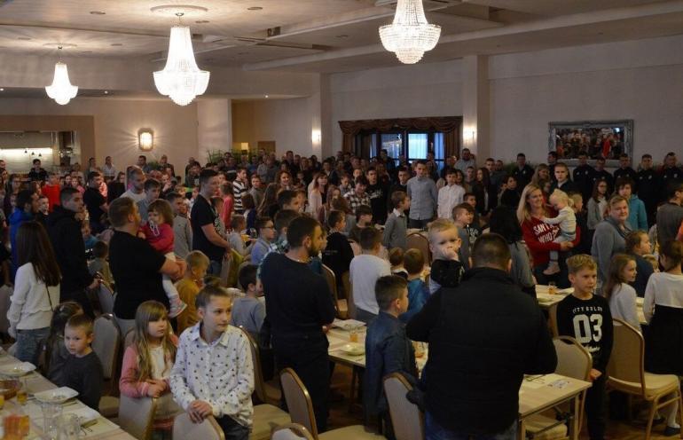Kibice ŁKS-u Łódź zorganizują Wigilię dla dzieci