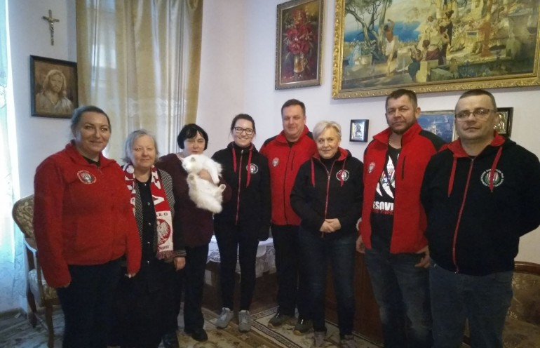 Kibice Resovii Rzeszów pomogli Polakom mieszkającym na Ukrainie