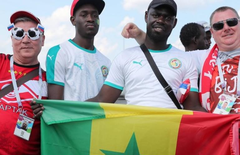 Kibice Senegalu nominowani do ''FIFA Fan Award''