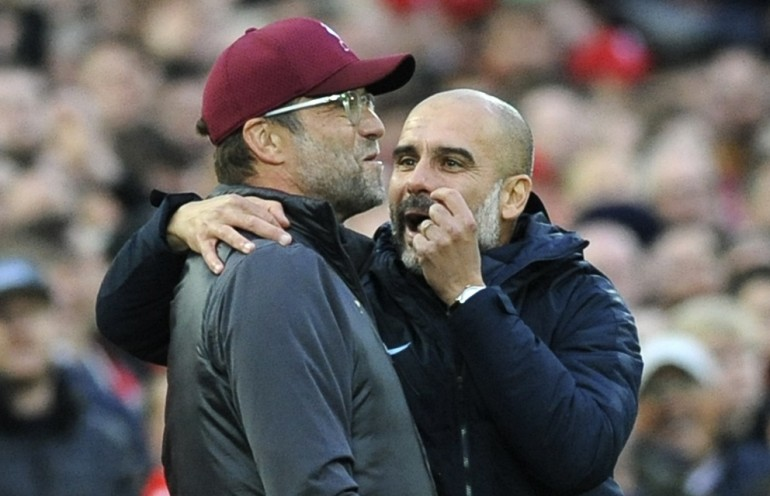 Klopp i Guardiola