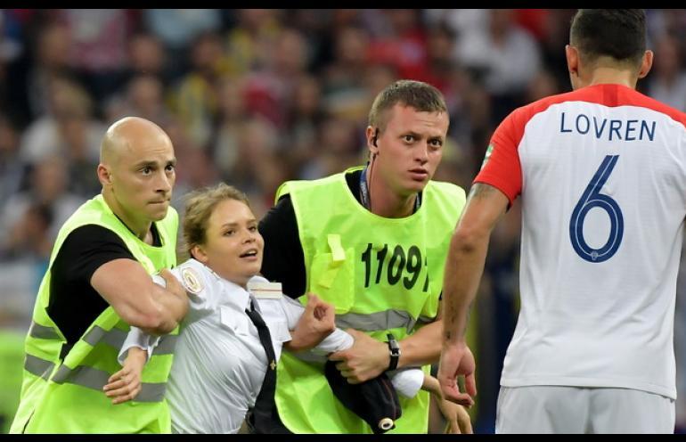 Kto zakłócił finał Mistrzostw Świata?