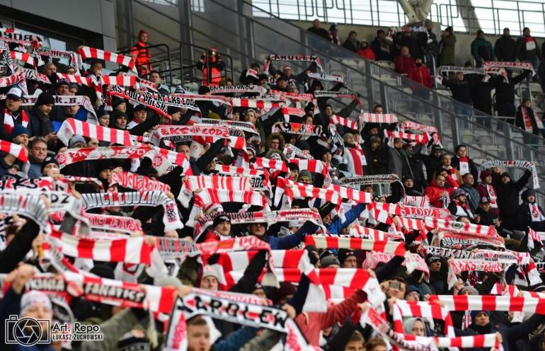 ŁKS Łódź - Cracovia Kraków 2019-12-01