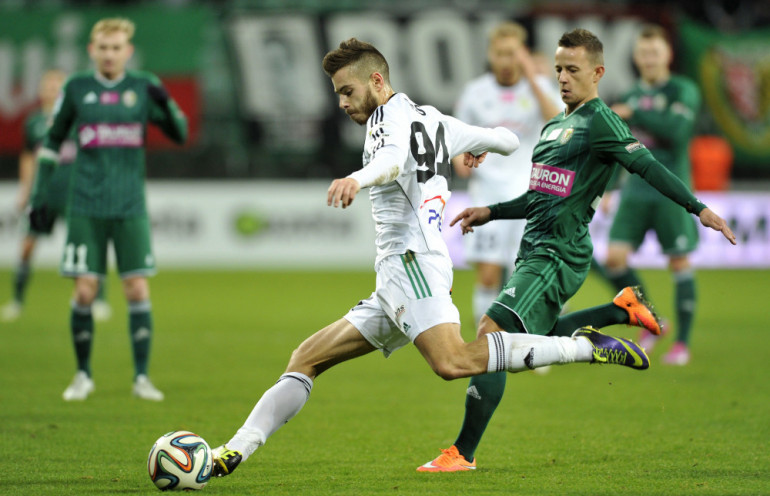 Marcin Flis w barwach GKS-u Bełchatów