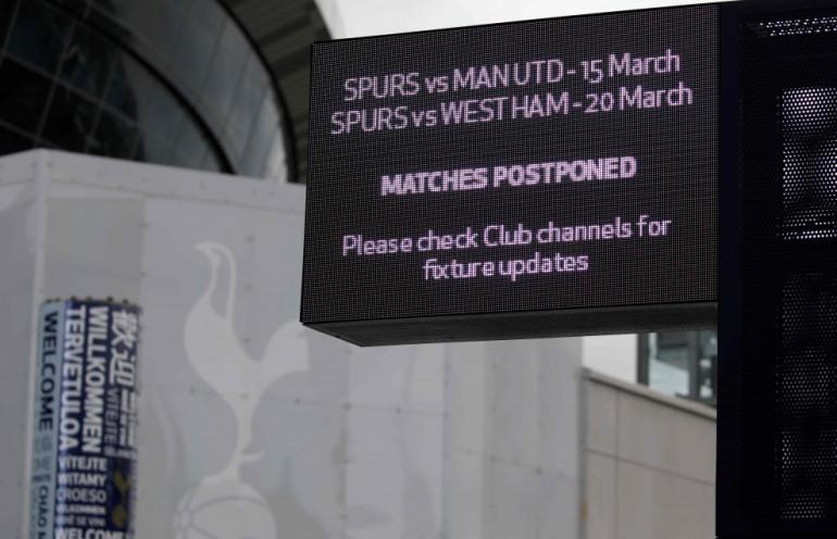 mecze Tottenhamu przełożone