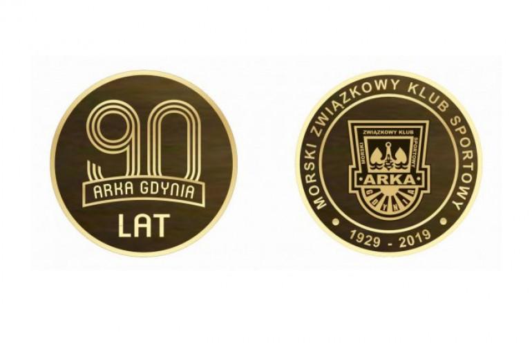 Medal okolicznościowy na 90-lecie klubu Arka Gdynia