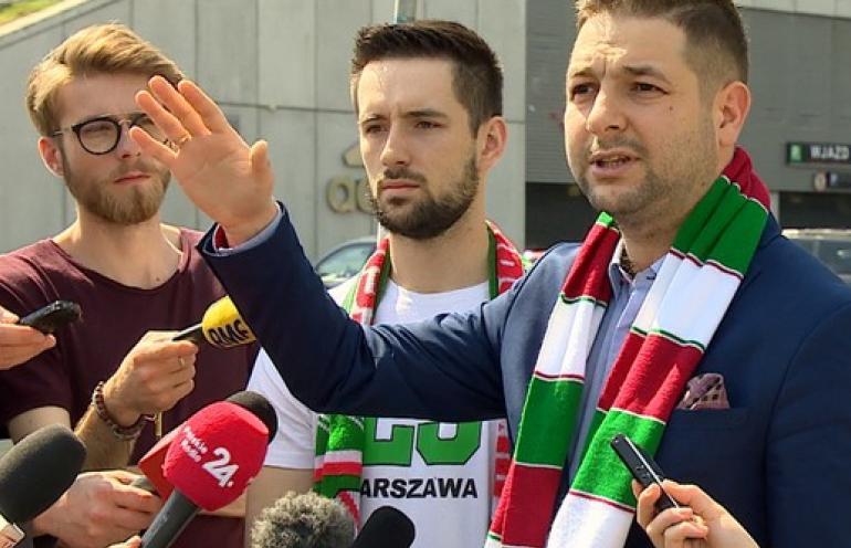 Patryk Jaki podpadł kibicom Polonii