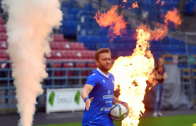 Prezentacja piłkarzy Wisła Kraków przed nowym sezonem.