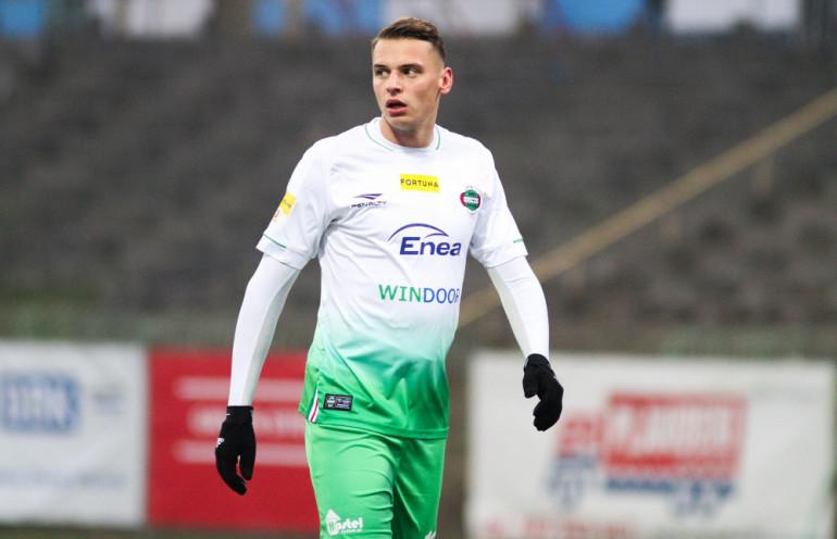 Rafał Makowski w barwach Radomiaka Radom