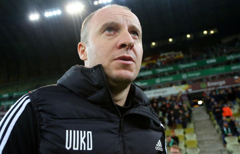 Vuković jak trener Legii Warszawa