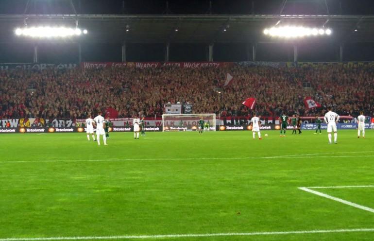 Widzew Łódź - Śląsk Wrocław 2019-09-24