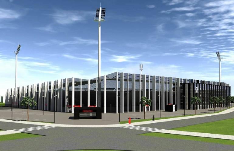 Wizualizacja stadionu Sandecji Nowy Sącz