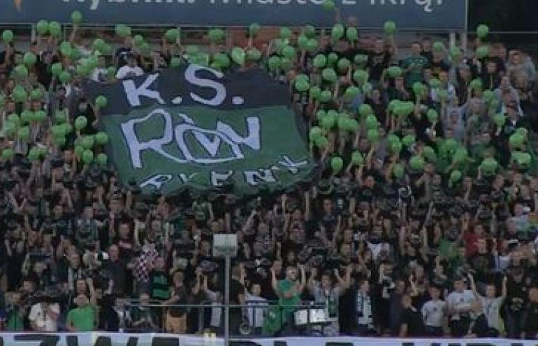 Zatrzymani fani ROW-u Rybnik